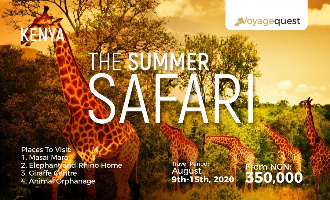 summer safari in kenya